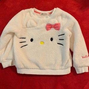 H&M Hello Kitty Sweater 2-4 girl